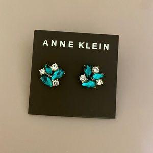 Anne Klein emerald earrings